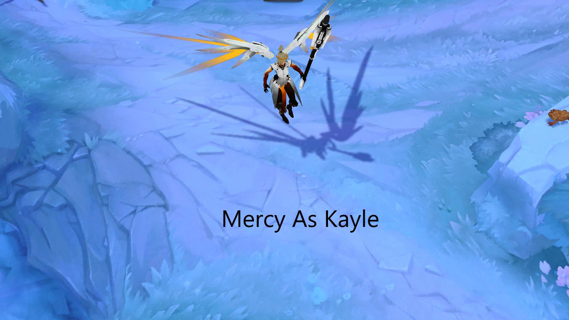 Kayle As Mercy