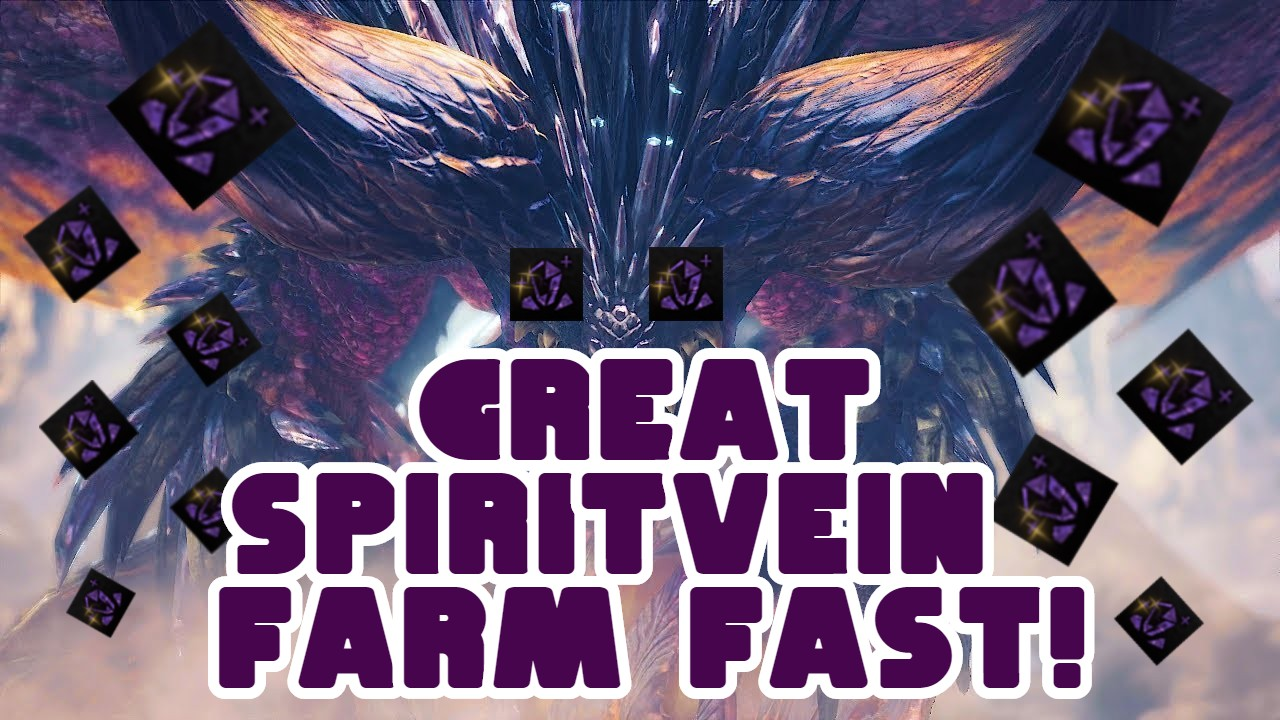MHW Iceborne – Fast Great spirit vein Gem Guide!