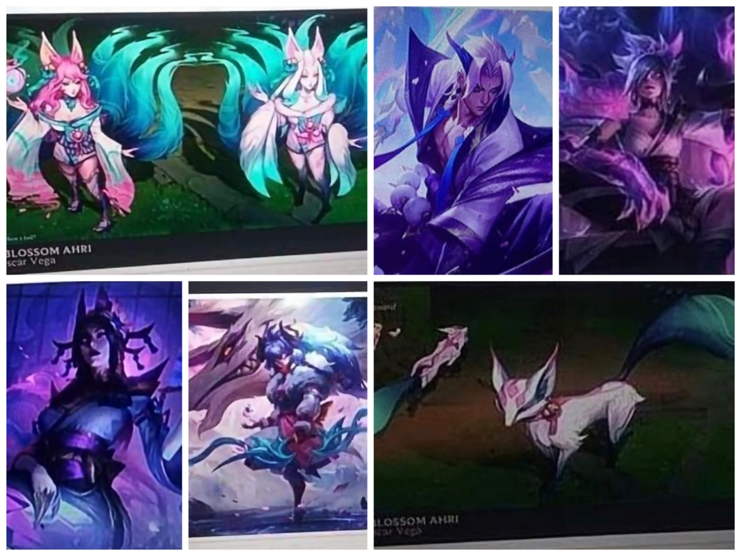 Leaked Spirit Blossom Yone, Riven, Ahri, Cassiopeia and Kindred