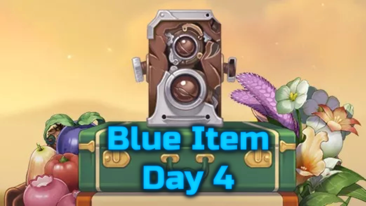 Blue Item Kamera Quest Day 4 – Genshin Impact Event
