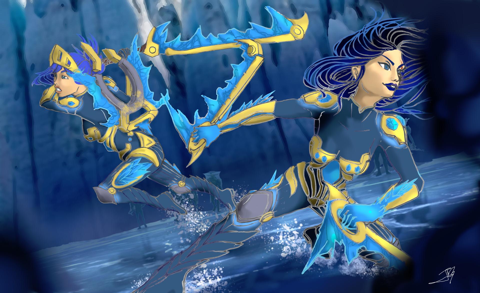 Frostblade Katarina